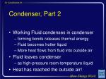 condenser part 2