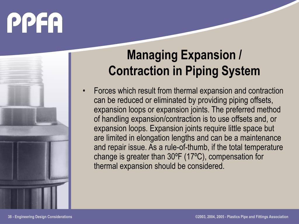 Managing Expansion /