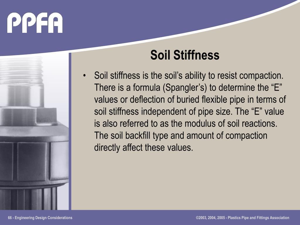 Soil Stiffness