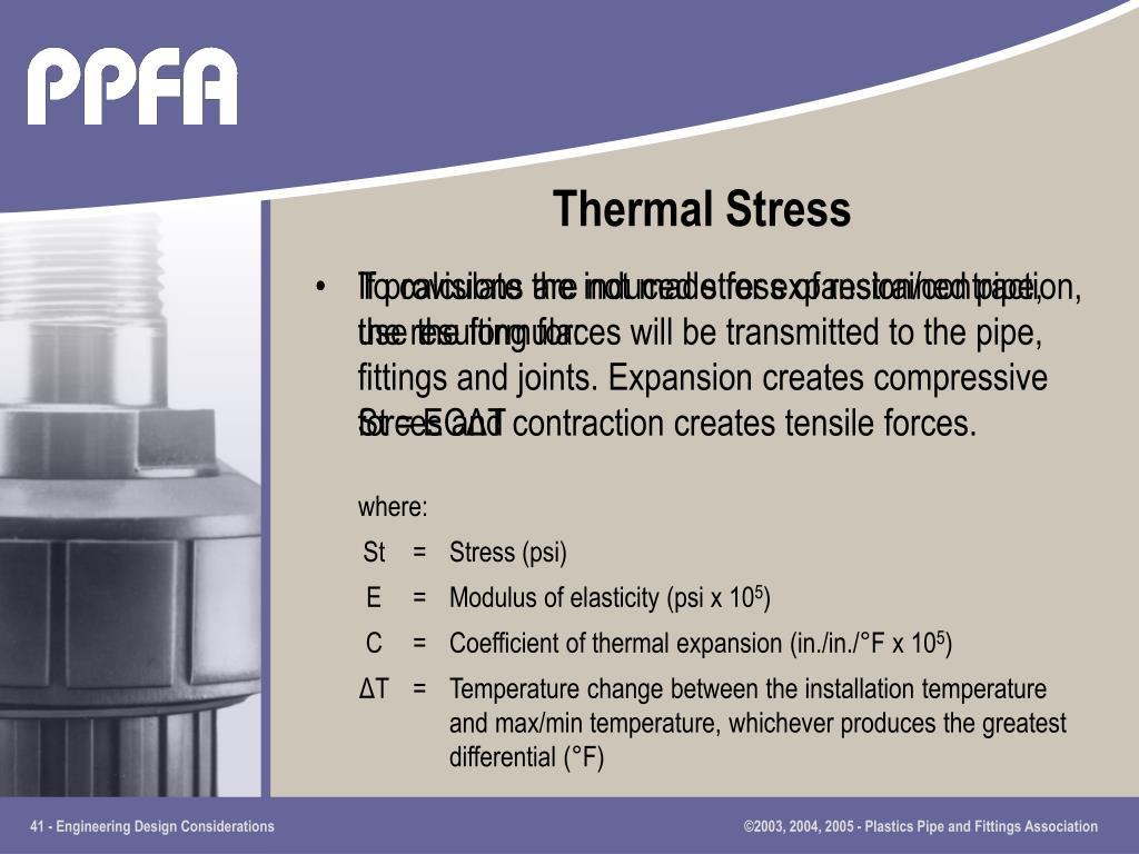 Thermal Stress