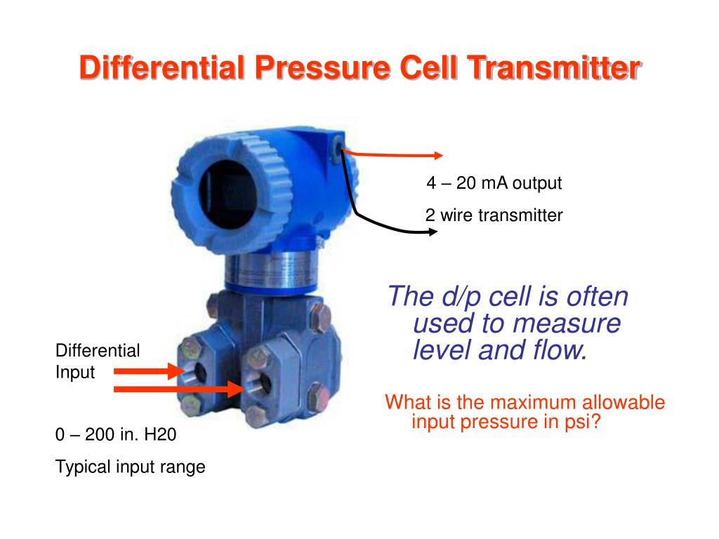 Differential Pressure Cell Transmitter