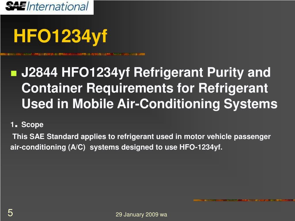 HFO1234yf