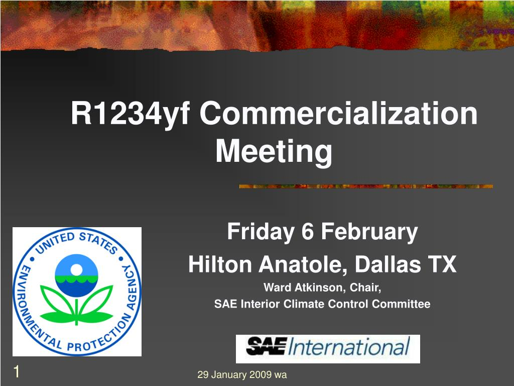 r1234yf commercialization meeting l.