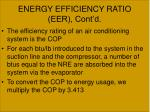 energy efficiency ratio eer cont d