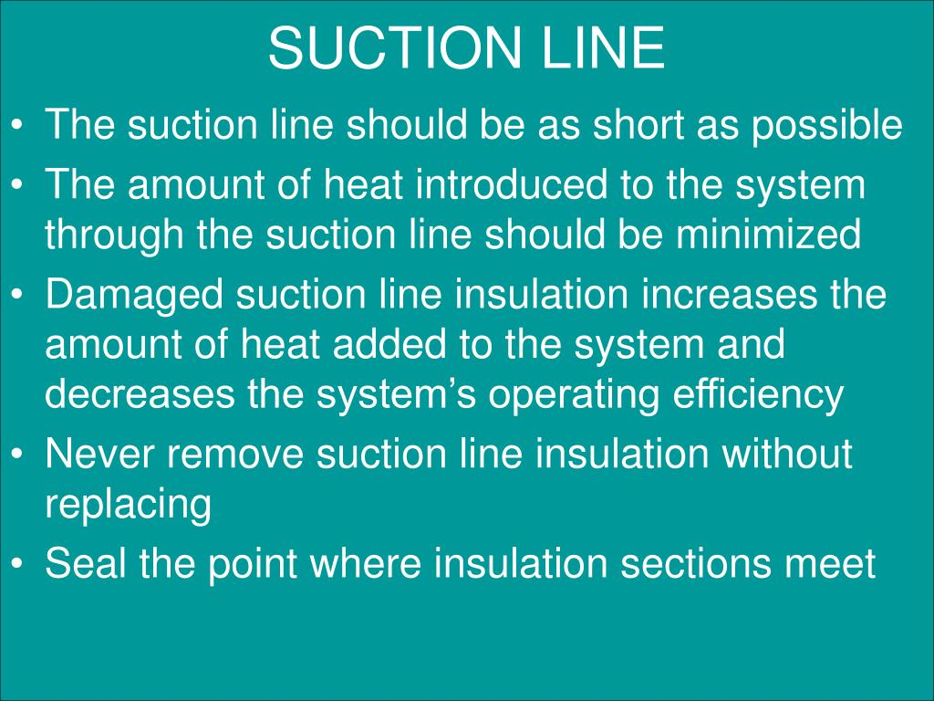 SUCTION LINE