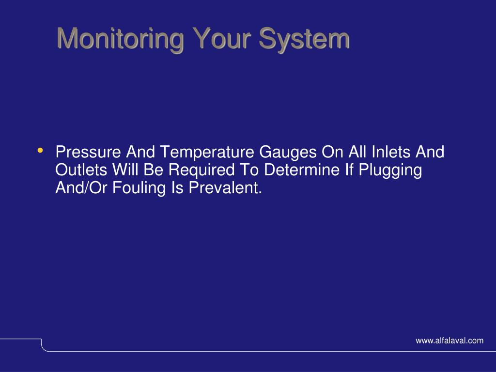 Monitoring Your System