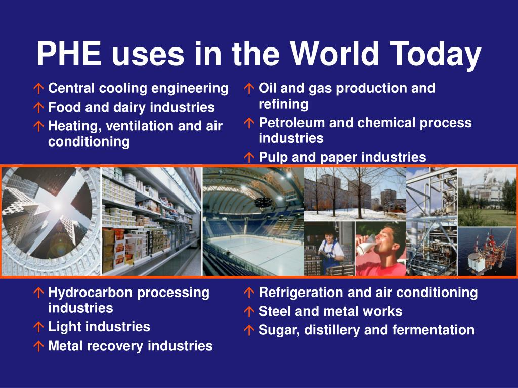 PHE uses in the World Today