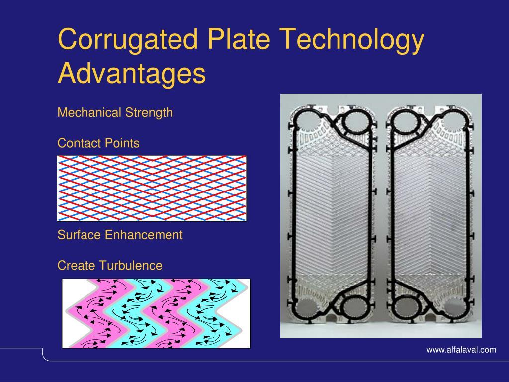 Corrugated Plate Technology Advantages