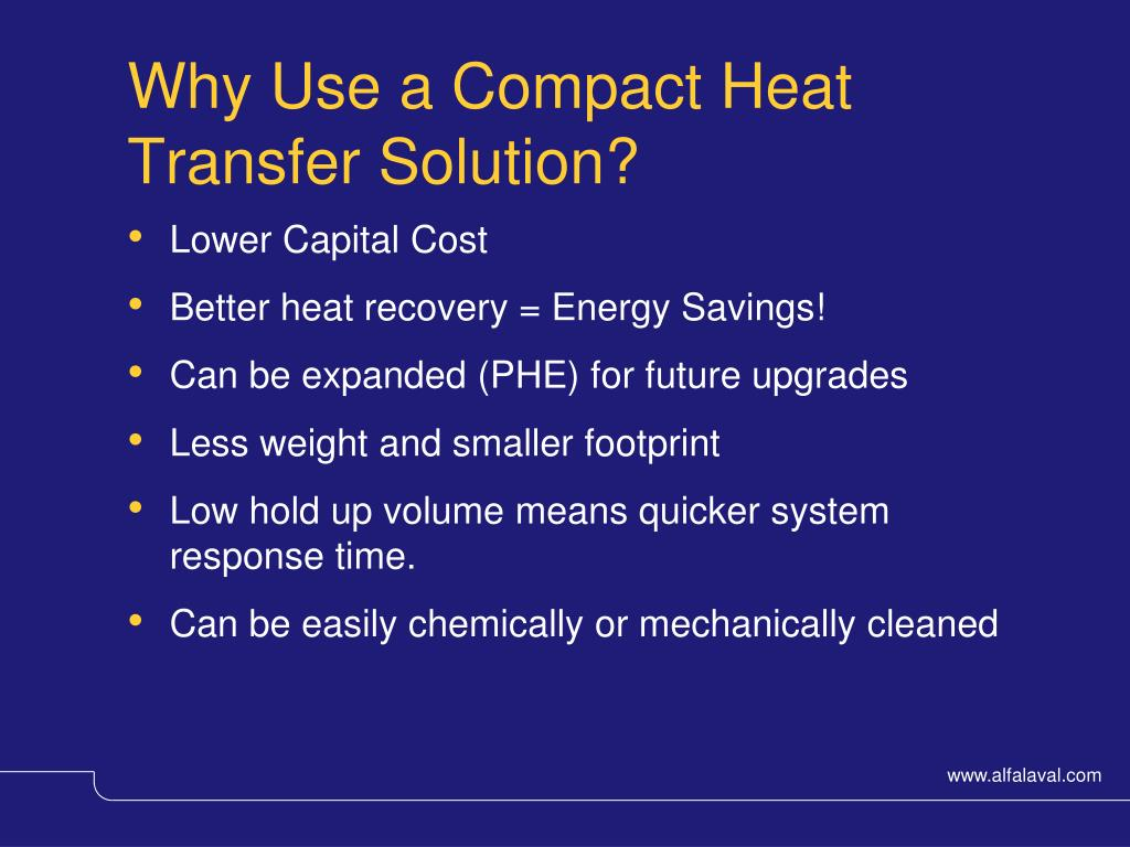 Why Use a Compact Heat Transfer Solution?
