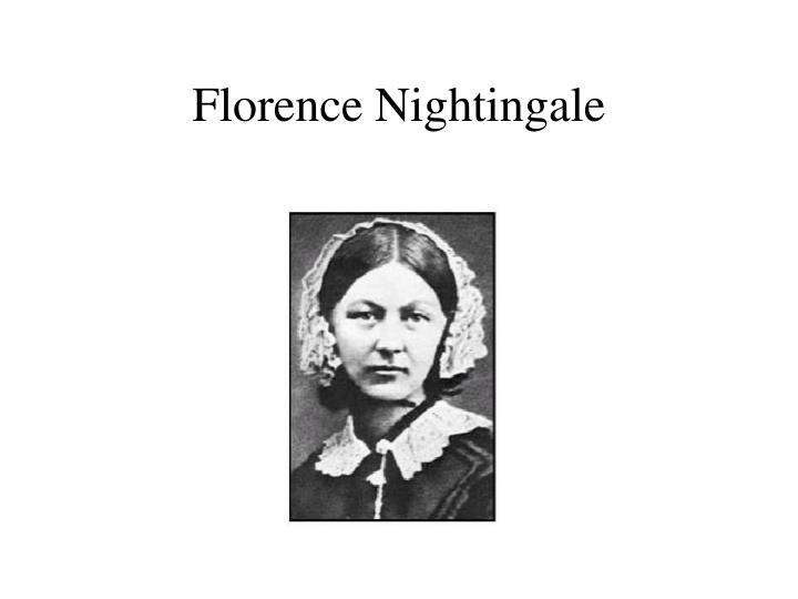 an introduction to the life and history of florence nightingale Florence nightingale , om , rrc , dstj ( /ˈflɒrəns ˈnaɪtɪŋɡeɪl/  12 may 1820 – 13 august 1910) was an english social reformer and statistician, and the founder of modern nursing she is one of the most famous people from the victorian era.