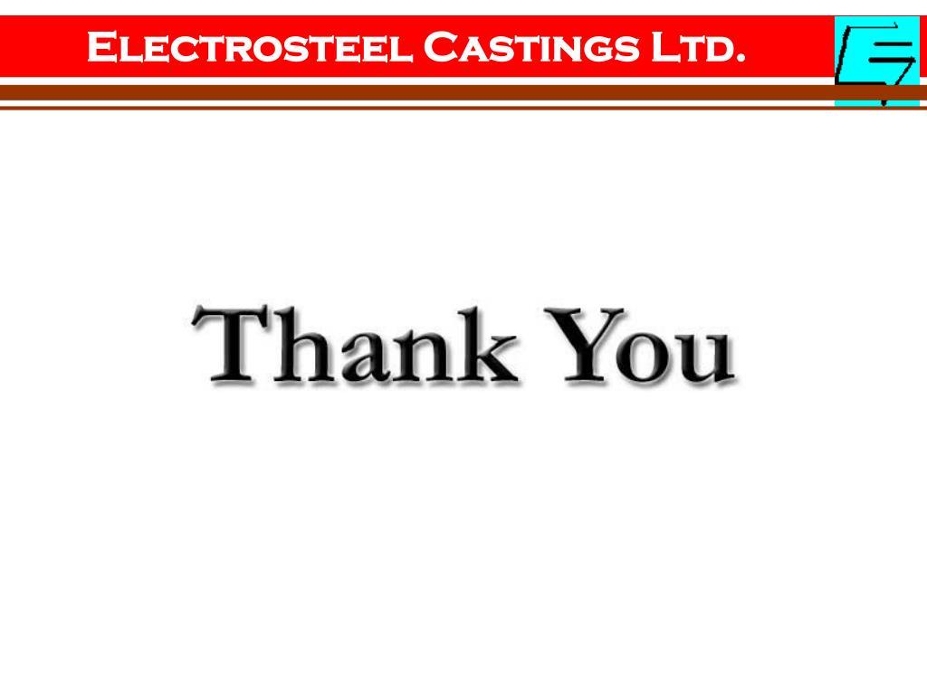 Electrosteel Castings Ltd.