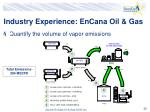 industry experience encana oil gas23