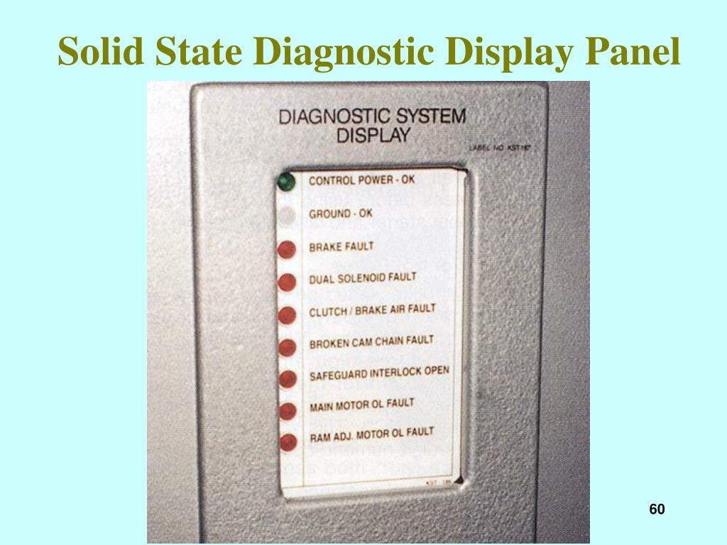Solid State Diagnostic Display Panel