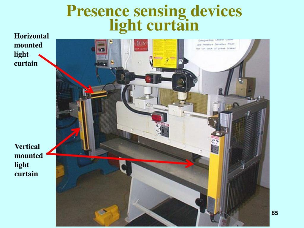 Presence sensing devices