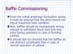 baffle commissioning64