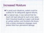 increased moisture23