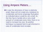 using ampere meters57