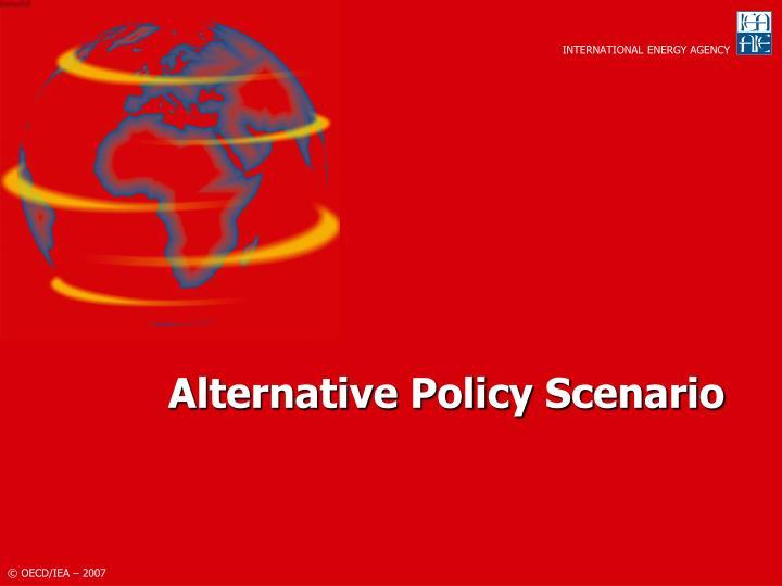 Alternative Policy Scenario