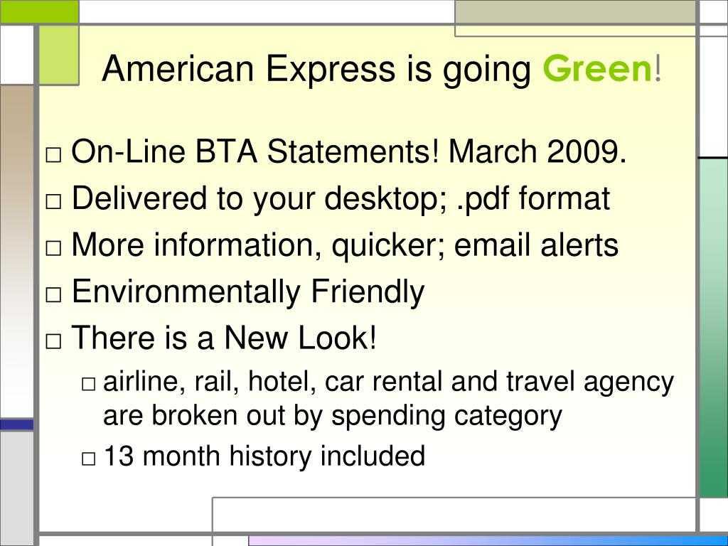 American Express is going