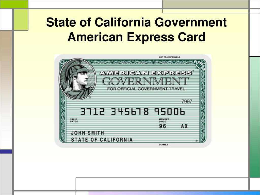 State of California Government