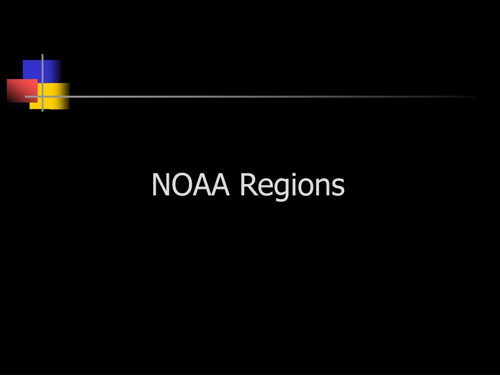 NOAA Regions