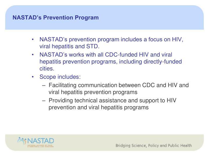 Nastad s prevention program