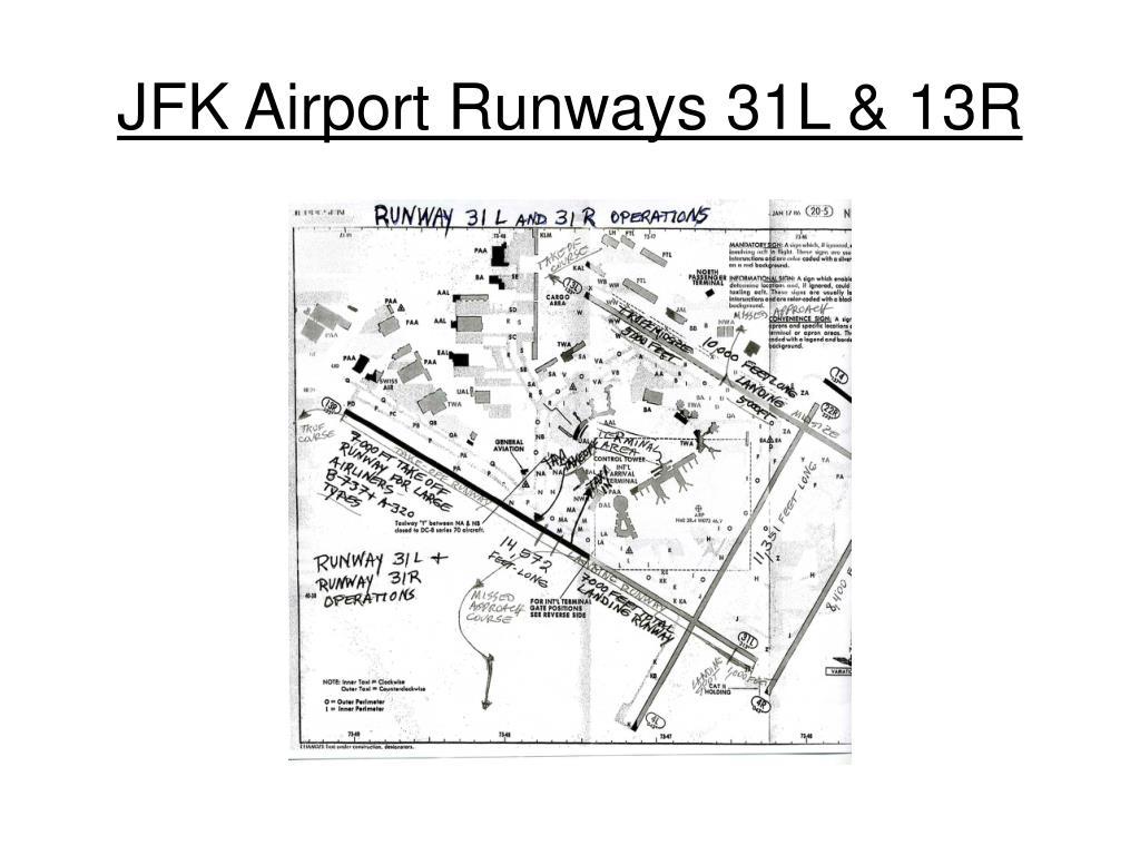 JFK Airport Runways 31L & 13R