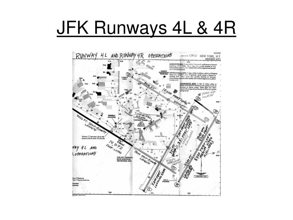 JFK Runways 4L & 4R
