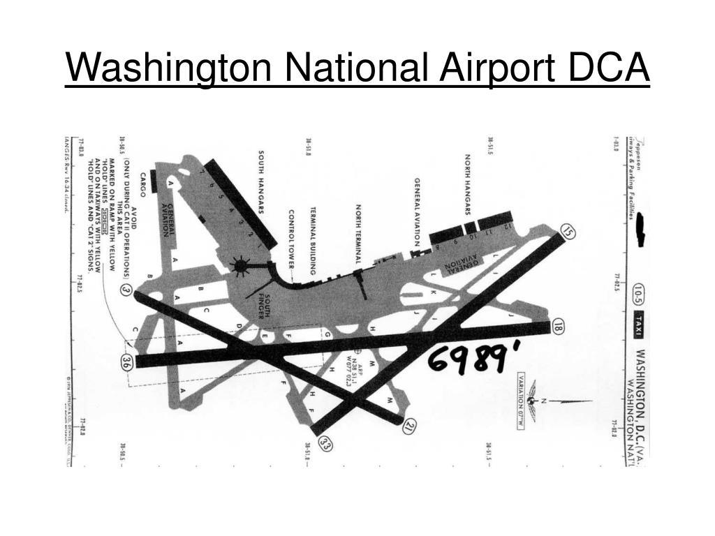 Washington National Airport DCA