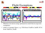flight exemptions
