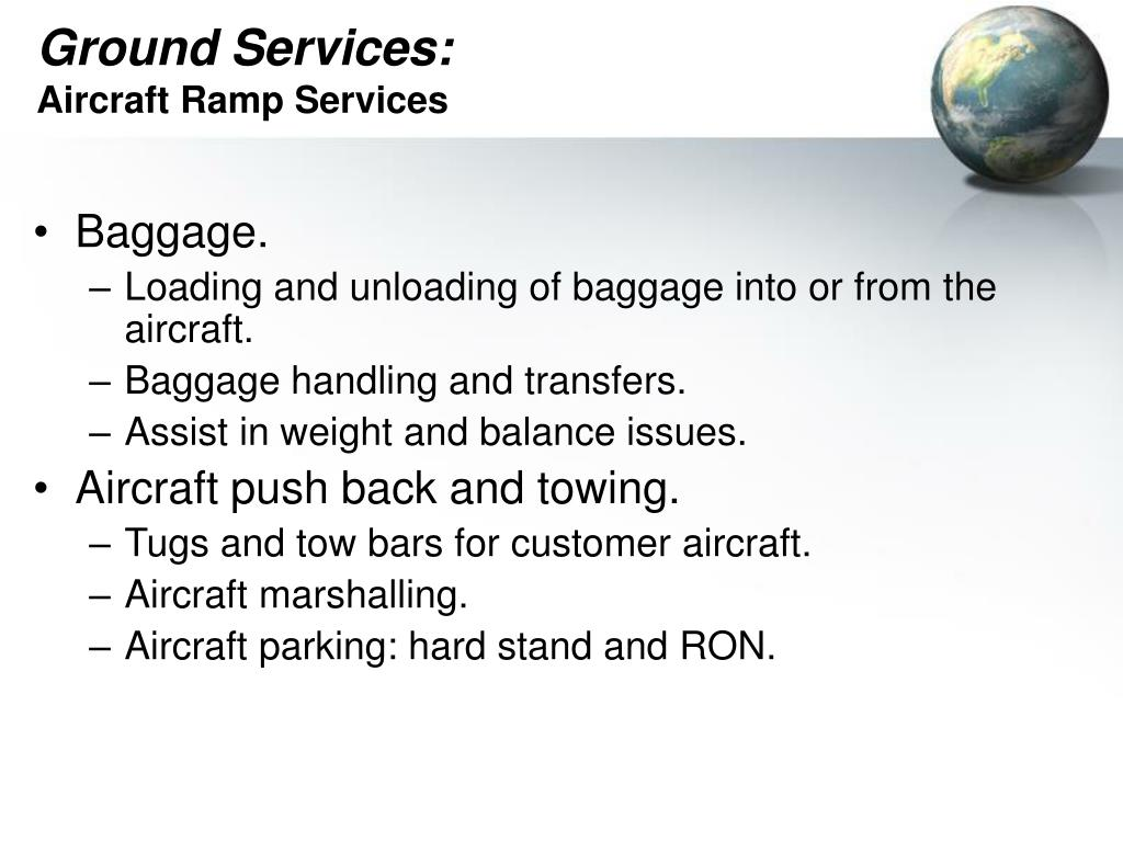 Ground Services: