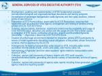 general services of atss executive authority tch