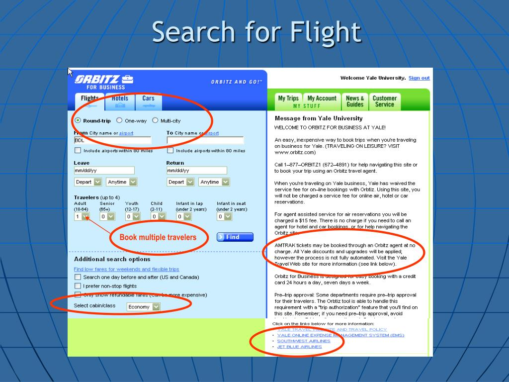 Search for Flight