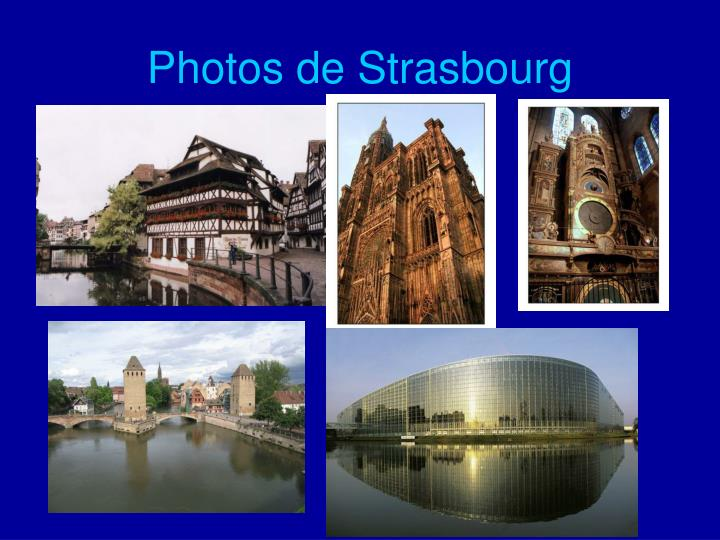Photos de Strasbourg