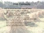 hub concepts
