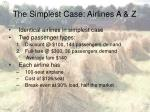 the simplest case airlines a z