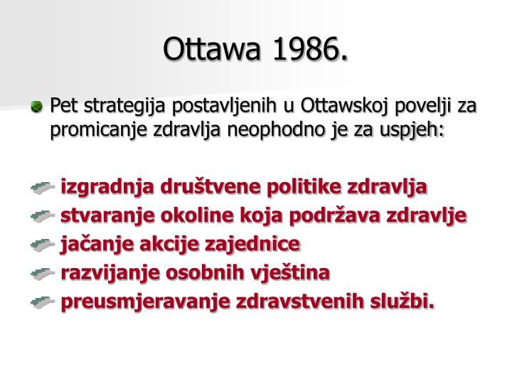 Ottawa 1986.