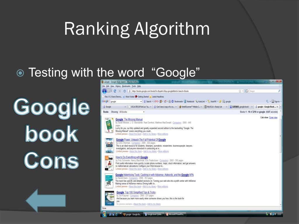 Ranking Algorithm