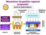 mecanismo de gesti n regional propuesto