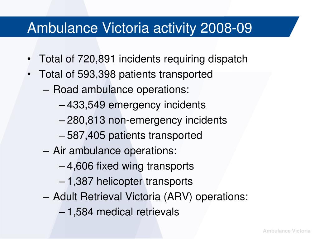 Total of 720,891 incidents requiring dispatch