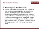disability guidelines56
