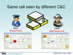 same call seen by different c c5