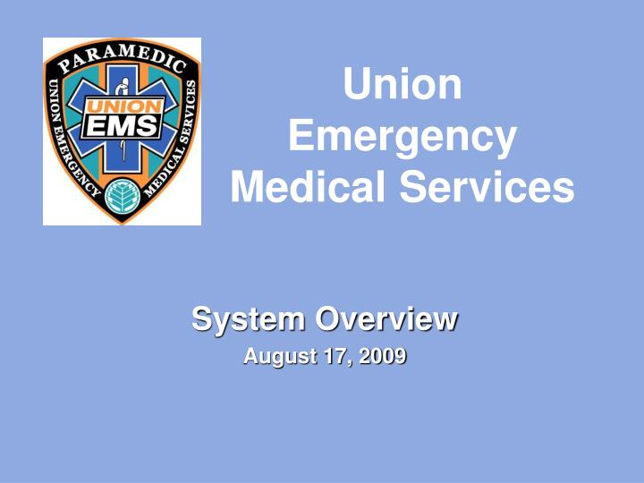 System overview august 17 2009