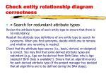 check entity relationship diagram correctness1