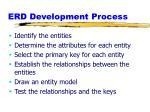 erd development process
