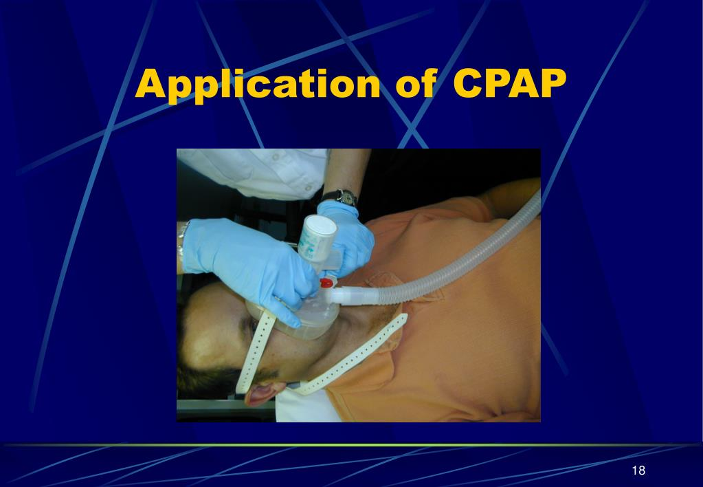Application of CPAP