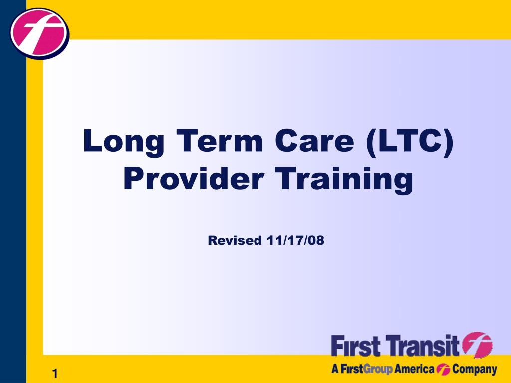 long term care ltc provider training l.