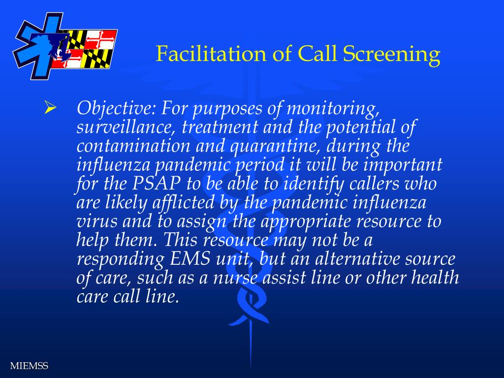 Facilitation of Call Screening