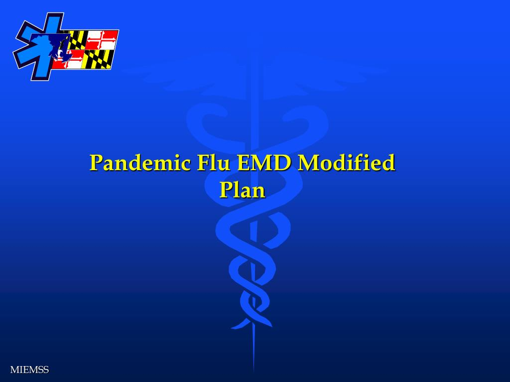 Pandemic Flu EMD Modified Plan