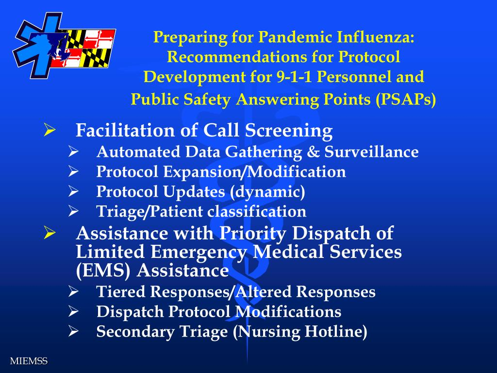Preparing for Pandemic Influenza: